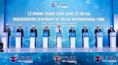 INAUGURATION CEREMONY OF THI VAI INTERNATIONAL PORT CO., LTD (TVP)